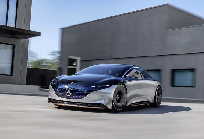 Mercedes Vision EQS is toekomstige elektrische S-Klasse #1