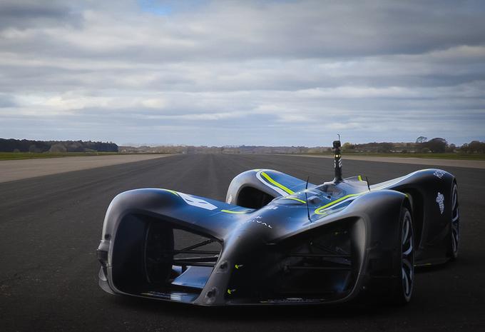Robocar is nu ook officieel snelste autonome auto ter wereld #1
