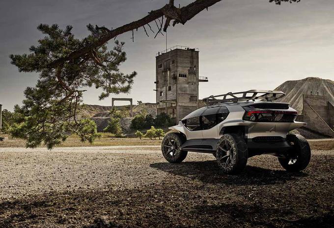 Opgepast Defender, deze Audi Trail Quattro is pure off-roader  #1