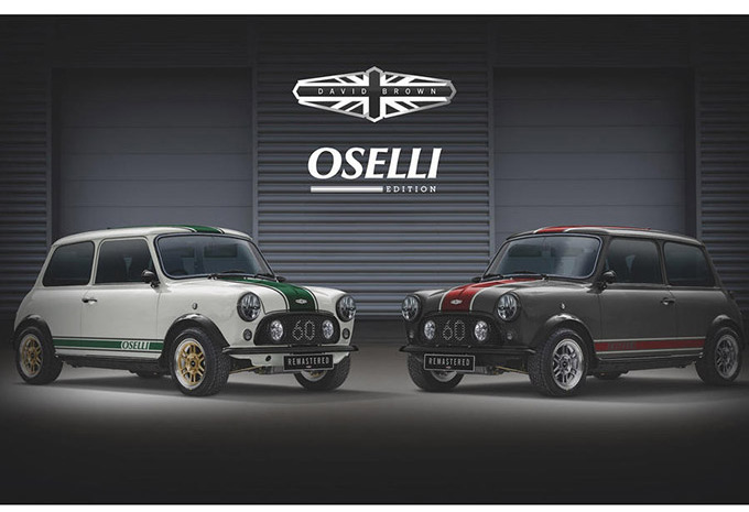 Mini : David Brown lanceert de Oselli Edition #1