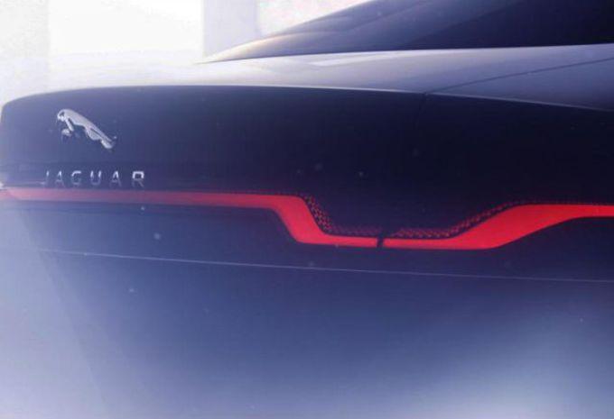 Jaguar XJ : teaser de la limousine électrique #1