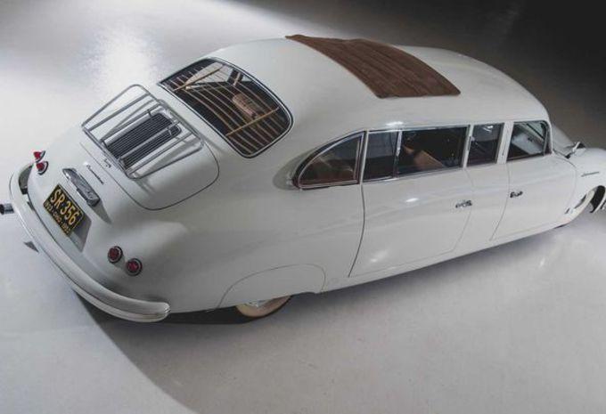 Porsche 356 Limousine is de Panamera uit de jaren 50 #1