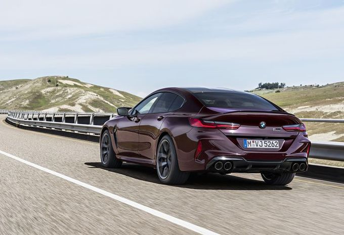 BMW M8 nu ook als vierdeurs Gran Coupé #1