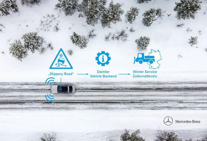 Les Mercedes détecteront le verglas dans le Jura souabe #1