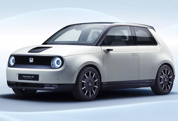 Honda e : 34.500 € en Belgique ! #1