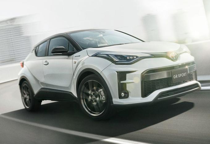 Toyota C-HR : la GR Sport uniquement pour le Japon #1