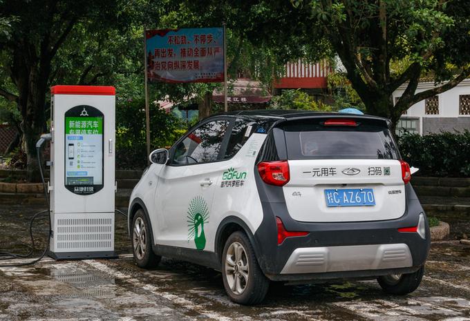 Chine : coup de frein des électriques #1