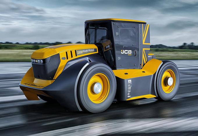 VIDÉO - JCB Fastrac Two : le tracteur le plus rapide du monde #1