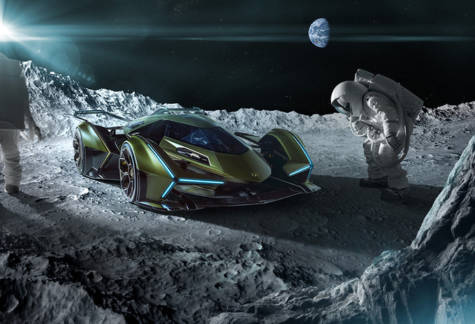Lamborghini V12 Vision GT : extraterrestre #1