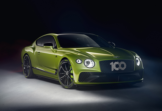 Bentley Continental GT : version Pikes Peak #1