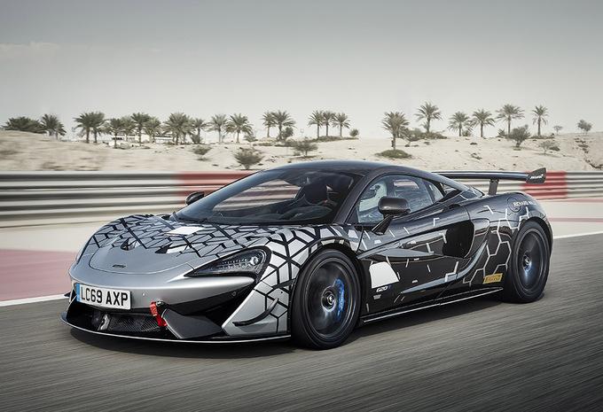 McLaren 620R : GT4 de course pour la route #1