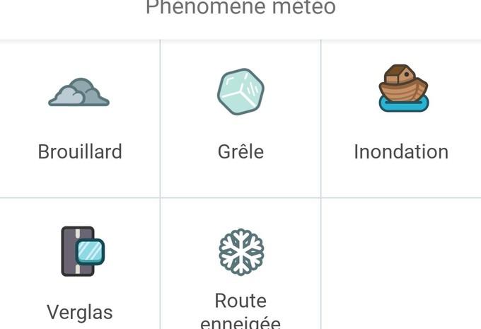 De la neige sur Waze #1