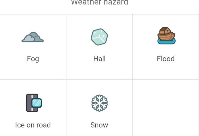 Sneeuw op Waze #1