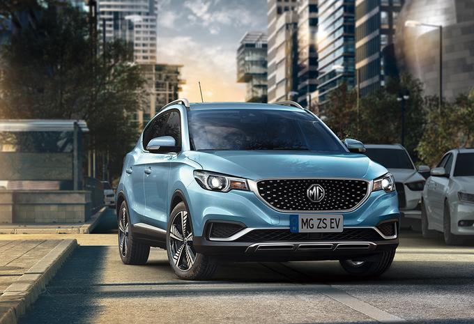 MG ZS EV: elektrische SUV komt naar België #1