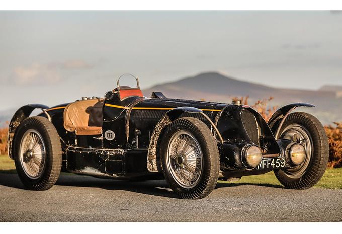 Deze Bugatti van Koning Leopold III wordt binnenkort geveild #1