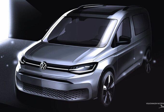 Volkswagen Caddy : les dessins avant le dévoilement #1