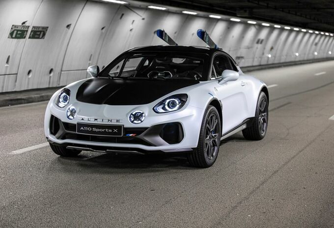 Alpine A110 Sports X : gènes de rallye-man #1