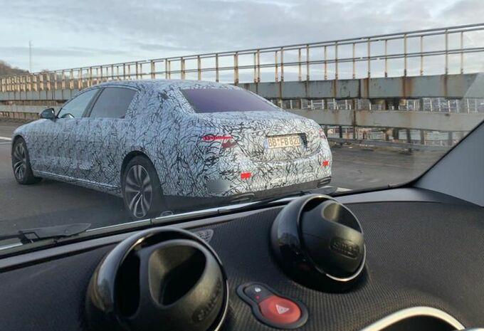 Mercedes Classe S : prototypes de développement en Belgique #1