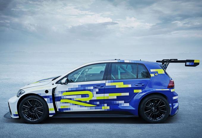 Volkswagen eR1 is ID.R in Golf-formaat #1
