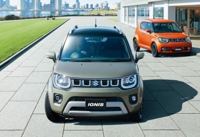 Suzuki Ignis : restylage en Inde #1
