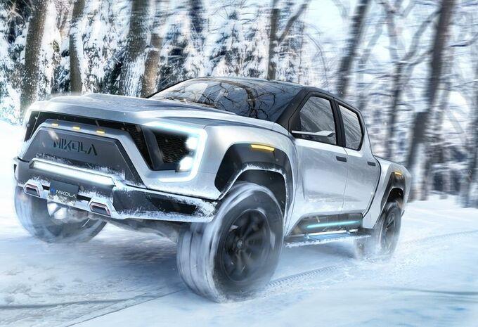 Nikola dévoile un pick-up électrique et concurrence le CyberTruck de Tesla