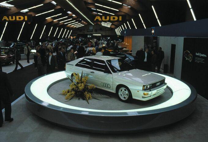 L'Audi Quattro a 40 ans #1