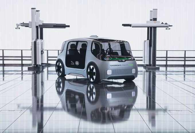 Vector : le projet de voiture autonome de Jaguar Land Rover #1