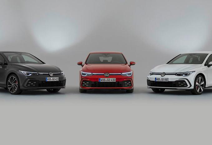 Volkswagen dévoile les Golf GTD, GTE et GTI #1