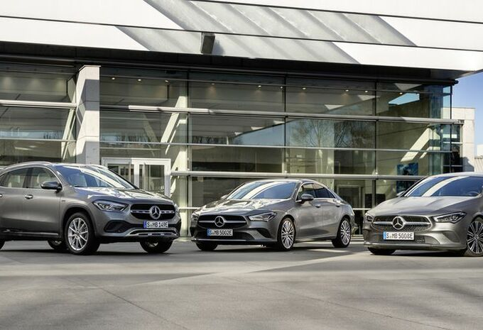 Mercedes met l'EQ Power aux CLA et GLA #1