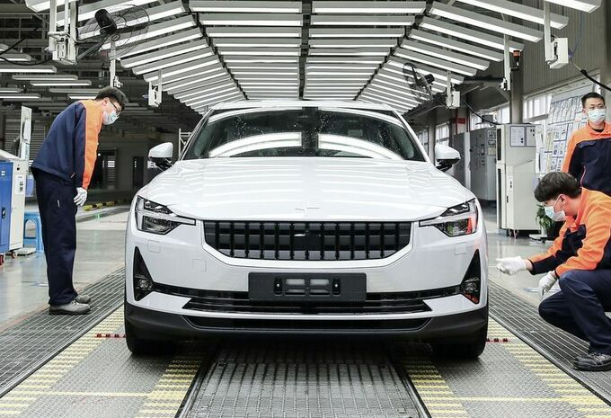 Polestar 2 : la production commence en Chine #1