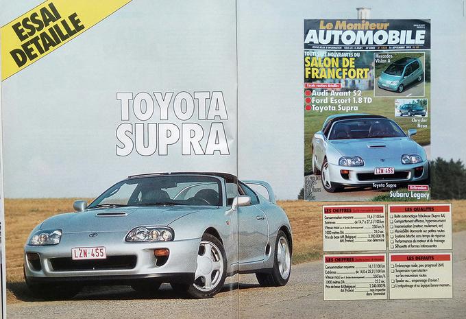 Que pensait Le Moniteur Automobile de la Toyota Supra en 1993? #1