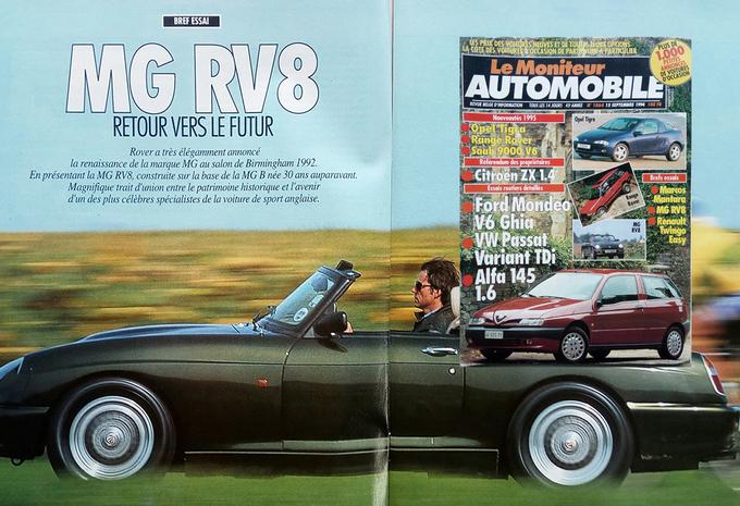 Que pensait Le Moniteur Automobile de la MG RV8 en 1994? #1