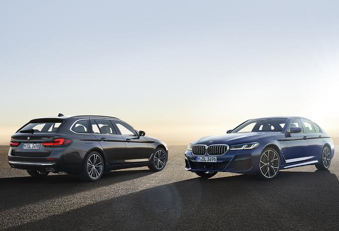 Officieel: facelift BMW 5 Reeks en 5 Reeks Touring #1