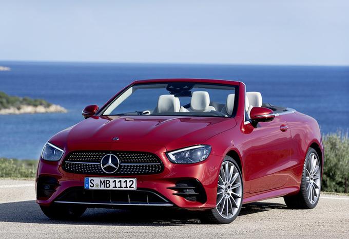 Mercedes Classe E Coupé et Cabriolet : nouvelle tenue #1
