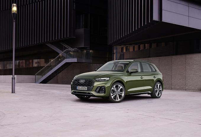 Audi Q5 facelift krijgt OLED en spierballen #1