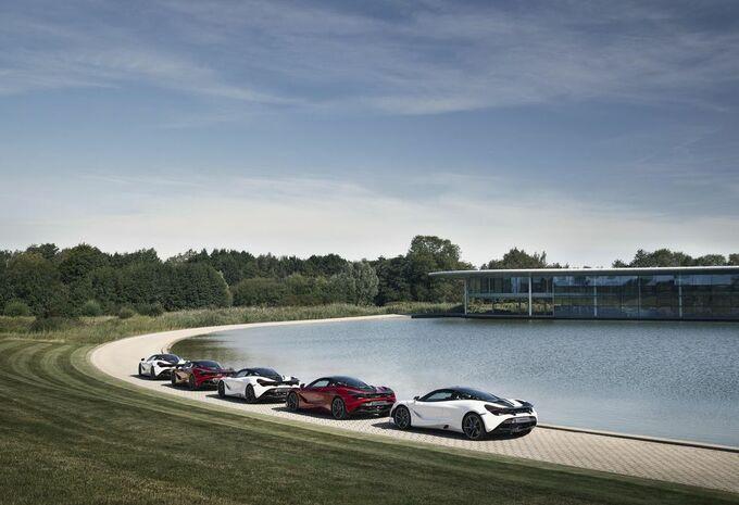 McLaren à la course aux livres sterling #1