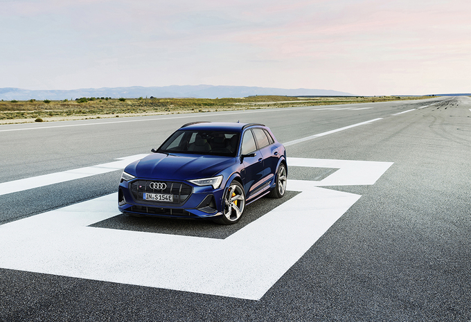 Officieel: Audi E-Tron en E-Tron Sportback S #1