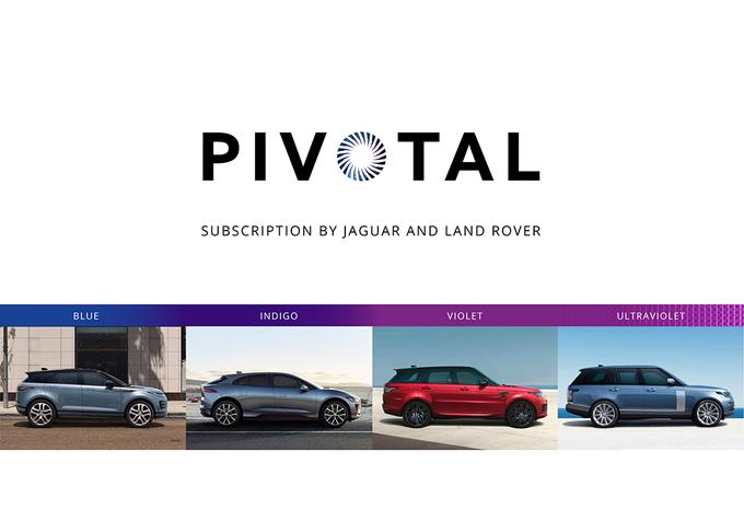 Jaguar Land Rover Pivotal: abonnement voor alle modellen #1
