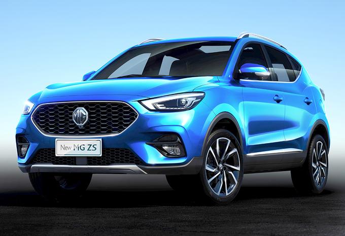 MG ZS krijgt facelift in het VK #1