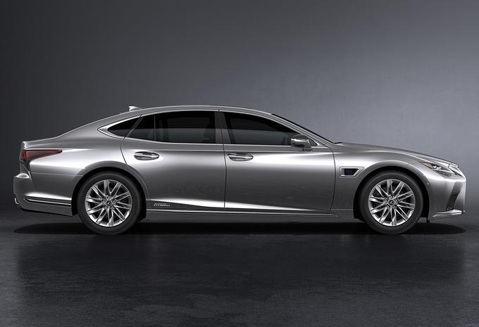 Lexus LS: un face-lift jusque dans les petits détails #1