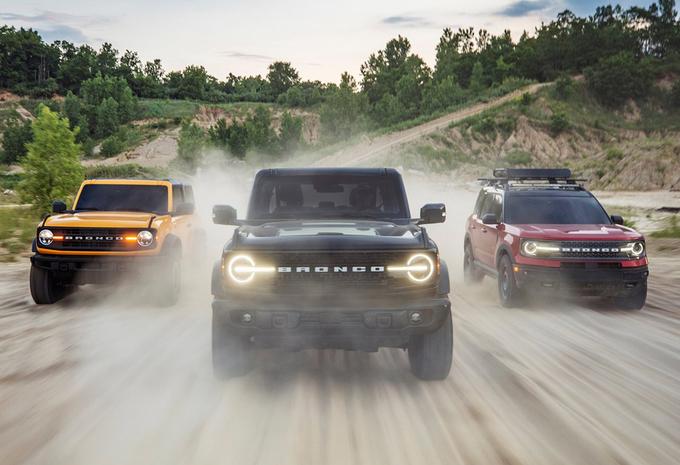 Ford Bronco verkiest ruw terrein boven asfalt #1