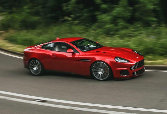 L'Aston Martin Vanquish sort de sa retraite avec la Callum Vanquish 25 #1