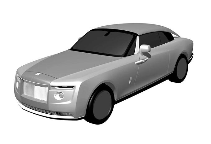 Gelekt: is dit de opvolger van de Rolls-Royce Sweptail? #1