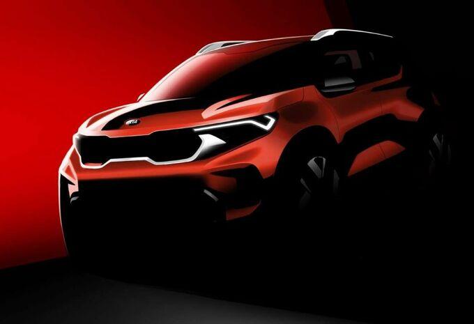 Kia Sonet: eerste beelden van de compacte SUV #1