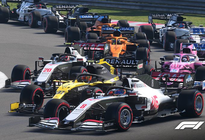 Gametest: F1 2020 (PC) #1