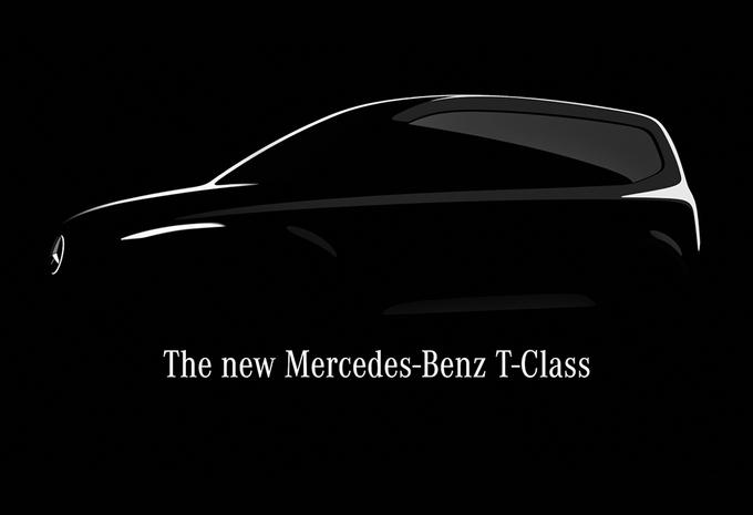 Mercedes Classe T : minibus basé sur le Citan #1
