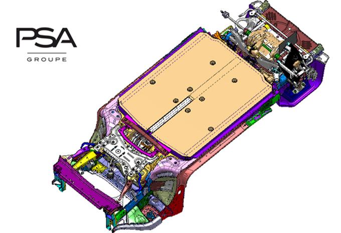 Nieuw elektrisch platform voor de PSA-groep #1