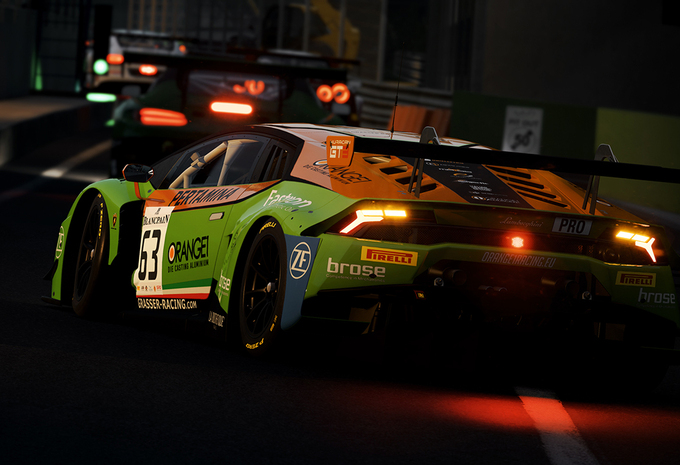 Gametest: Assetto Corsa Competizione (PS4) #1