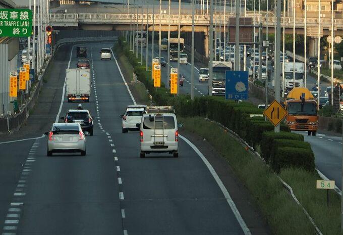 Hogere snelheidslimiet op Japanse autosnelwegen #1