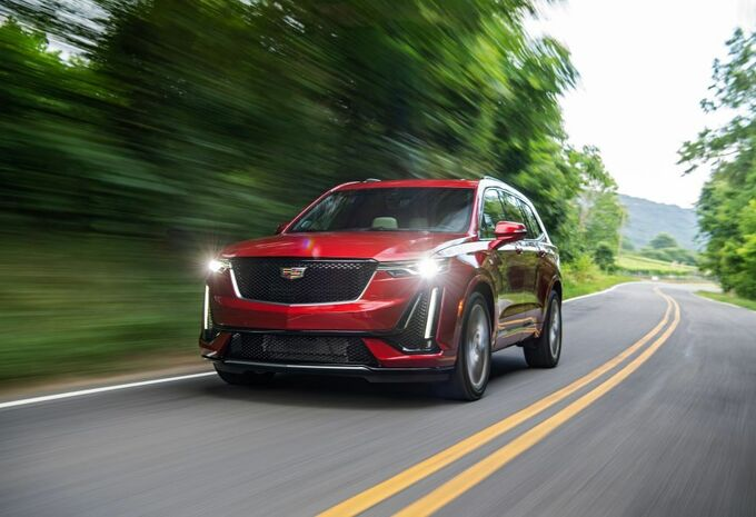 Cadillac XT6 : en mode « SUV blindé »  #1